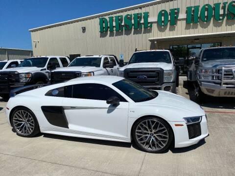 2017 Audi R8 for sale at Diesel Of Houston in Houston TX