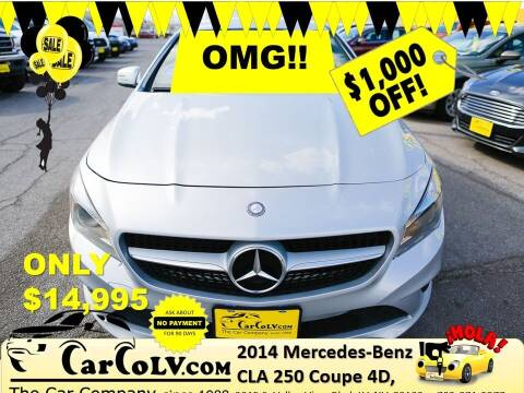 2014 Mercedes-Benz CLA for sale at The Car Company in Las Vegas NV