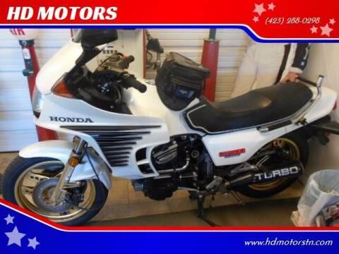 1982 Honda CX500TURBO for sale at HD MOTORS in Kingsport TN