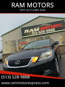 2008 Lexus GS 350 for sale at RAM MOTORS in Cincinnati OH