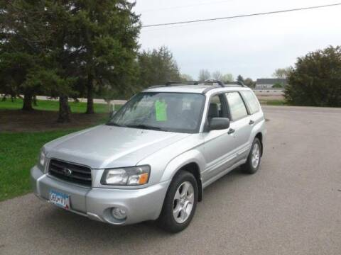 2003 Subaru Forester for sale at HUDSON AUTO MART LLC in Hudson WI