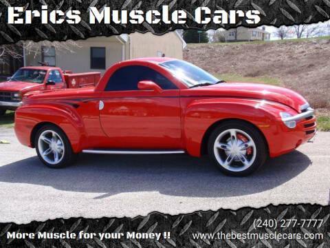 2004 Chevrolet SSR for sale at Erics Muscle Cars in Clarksburg MD