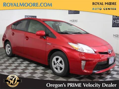 2014 Toyota Prius for sale at Royal Moore Custom Finance in Hillsboro OR
