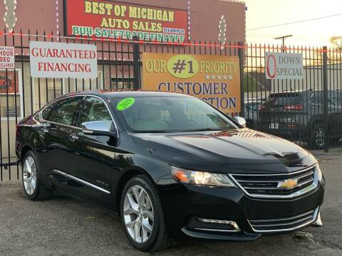 2019 Chevrolet Impala for sale at Best of Michigan Auto Sales in Detroit MI
