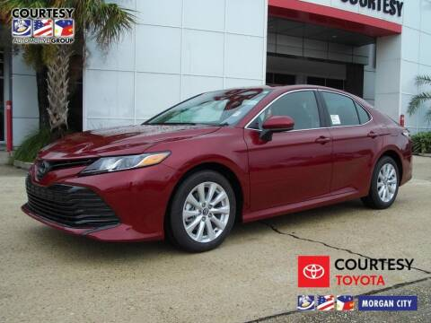2020 Toyota Camry for sale at Courtesy Toyota & Ford in Morgan City LA