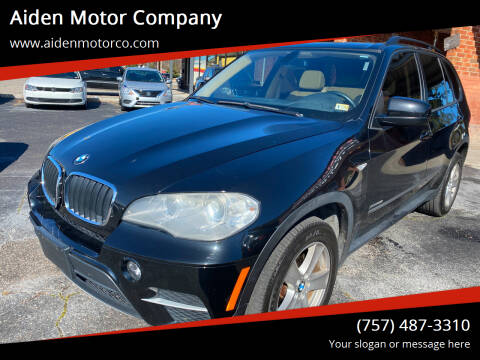 2012 BMW X5 for sale at Aiden Motor Company in Portsmouth VA