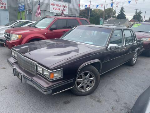 1985 Cadillac DeVille for sale at American Dream Motors in Everett WA