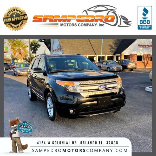2014 Ford Explorer for sale at SAMPEDRO MOTORS COMPANY INC in Orlando FL