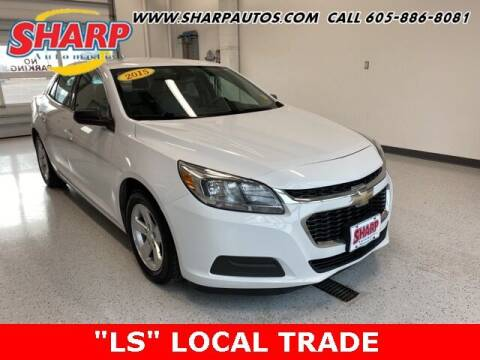 2015 Chevrolet Malibu for sale at Sharp Automotive in Watertown SD