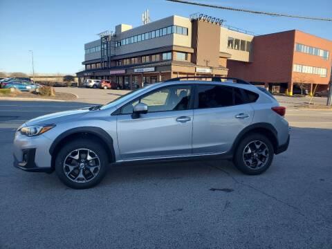 2018 Subaru Crosstrek for sale at CHIP'S SERVICE CENTER in Portland ME