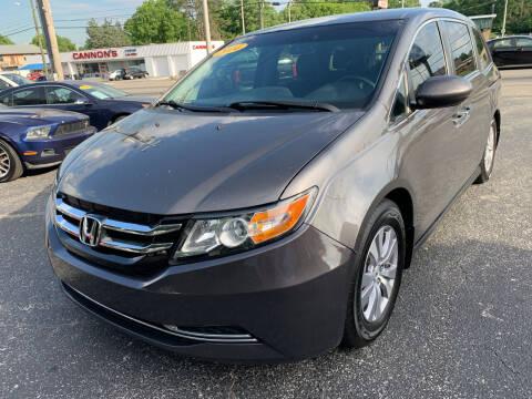 2014 Honda Odyssey for sale at Diana Rico LLC in Dalton GA