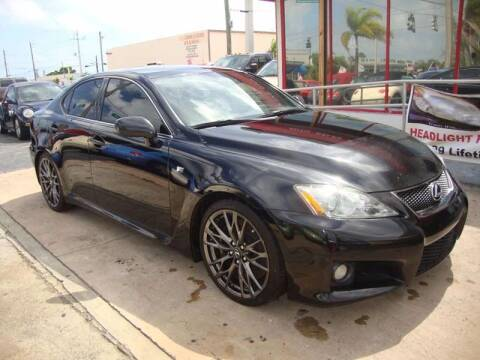 2008 Lexus IS F for sale at TOP TWO USA INC in Oakland Park FL