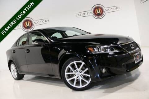 2013 Lexus IS 250 for sale at Unlimited Motors in Fishers IN