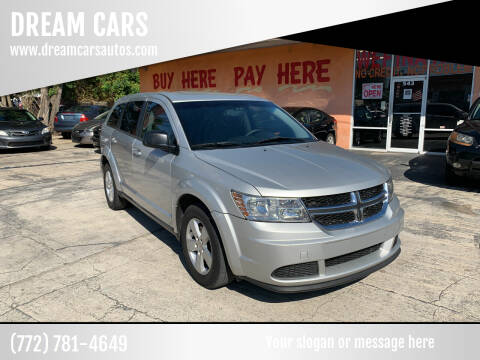 2013 Dodge Journey for sale at DREAM CARS in Stuart FL