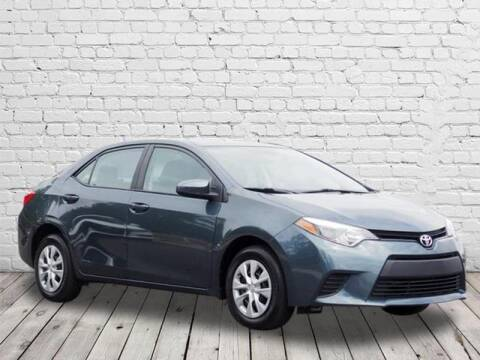 2016 Toyota Corolla for sale at PHIL SMITH AUTOMOTIVE GROUP - Manager's Specials in Lighthouse Point FL