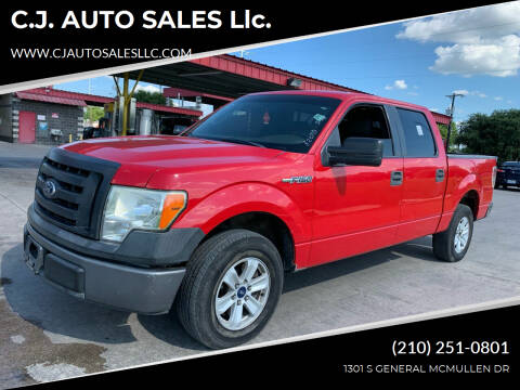 2010 Ford F-150 for sale at C.J. AUTO SALES llc. in San Antonio TX
