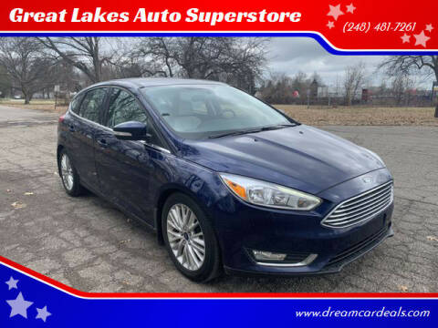 2016 Ford Focus for sale at Great Lakes Auto Superstore in Waterford Township MI