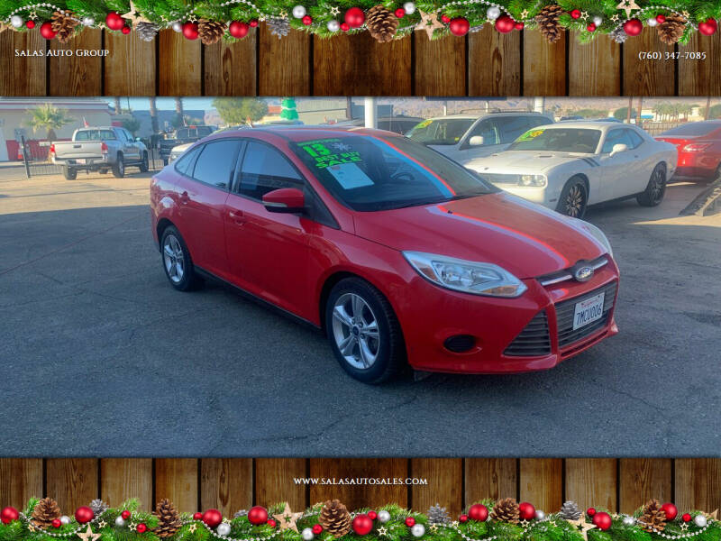 2013 Ford Focus for sale at Salas Auto Group in Indio CA