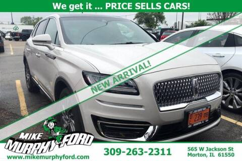 2019 Lincoln Nautilus for sale at Mike Murphy Ford in Morton IL