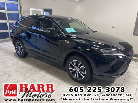 2021 Toyota Venza for sale at Harr's Redfield Ford in Redfield SD
