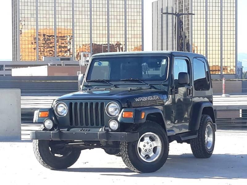 2003 Jeep Wrangler for sale at Pammi Motors in Glendale CO