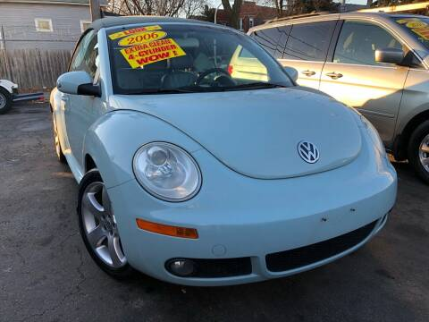 2006 Volkswagen New Beetle Convertible for sale at Jeff Auto Sales INC in Chicago IL