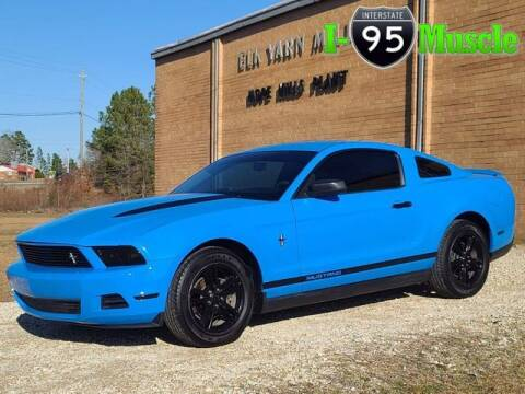 2010 Ford Mustang for sale at I-95 Muscle in Hope Mills NC