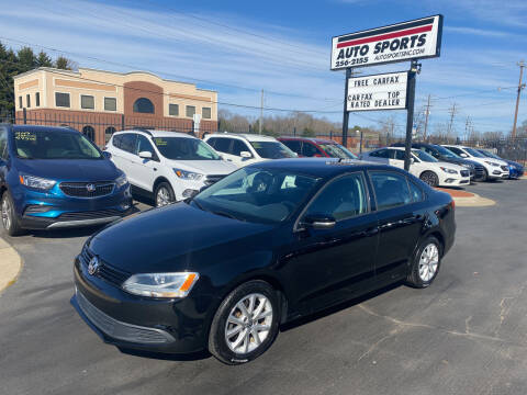 2012 Volkswagen Jetta for sale at Auto Sports in Hickory NC