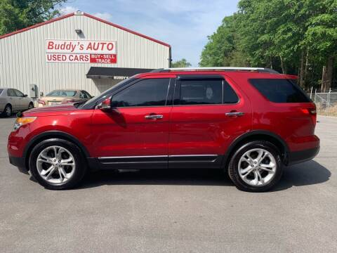 2013 Ford Explorer for sale at Buddy's Auto Inc in Pendleton SC