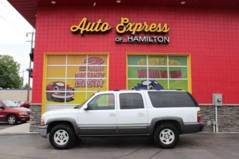 2004 Chevrolet Suburban for sale at AUTO EXPRESS OF HAMILTON LLC in Hamilton OH