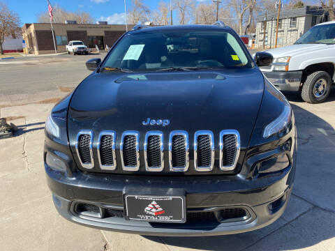2014 Jeep Cherokee for sale at PYRAMID MOTORS AUTO SALES in Florence CO