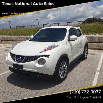 2013 Nissan JUKE for sale at Texas National Auto Sales in San Antonio TX