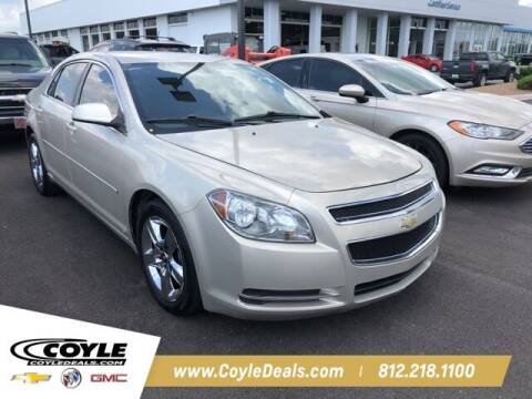 2010 Chevrolet Malibu for sale at COYLE GM - COYLE NISSAN - New Inventory in Clarksville IN