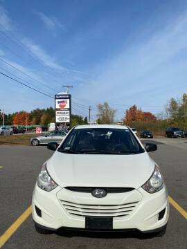 2011 Hyundai Tucson for sale at Empire Motor Group LLC in Plaistow NH