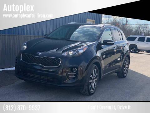 2018 Kia Sportage for sale at Autoplex in Sullivan IN
