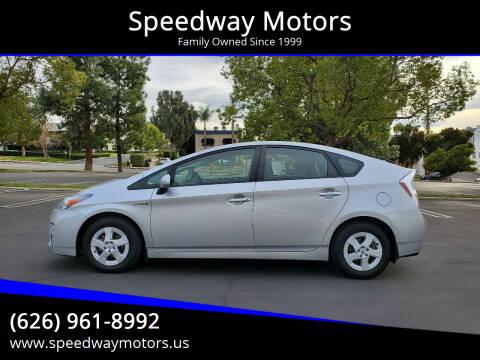 2010 Toyota Prius for sale at Speedway Motors in Glendora CA