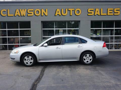 2010 Chevrolet Impala for sale at Clawson Auto Sales in Clawson MI