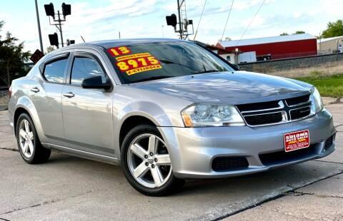 2013 Dodge Avenger for sale at SOLOMA AUTO SALES in Grand Island NE