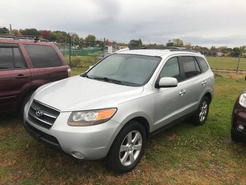 2007 Hyundai Santa Fe for sale at RJD Enterprize Auto Sales in Scotia NY