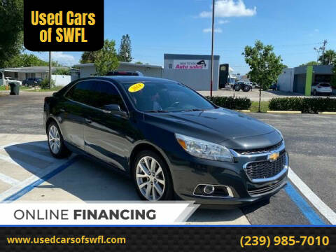 2014 Chevrolet Malibu for sale at Used Cars of SWFL in Fort Myers FL