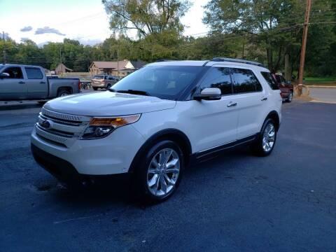 2012 Ford Explorer for sale at Curtis Lewis Motor Co in Rockmart GA