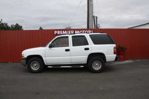 2005 Chevrolet Tahoe for sale at PREMIERMOTORS  INC. in Milton Freewater OR