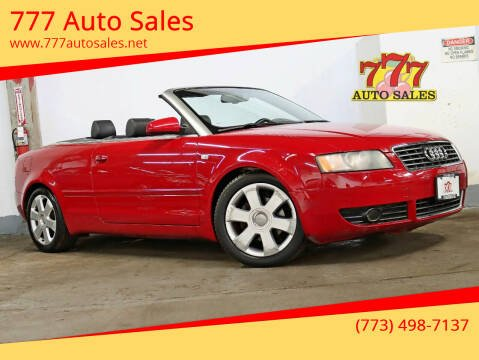 2006 Audi A4 for sale at 777 Auto Sales in Bedford Park IL