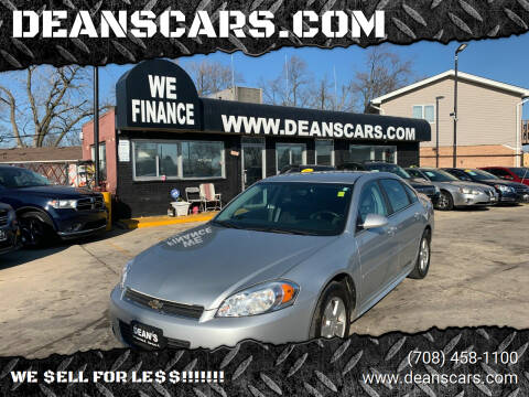 2011 Chevrolet Impala for sale at DEANSCARS.COM in Bridgeview IL