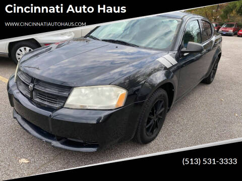 2010 Dodge Avenger for sale at Cincinnati Auto Haus in Cincinnati OH