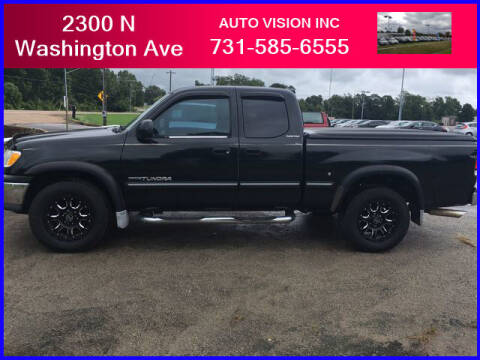 2000 Toyota Tundra for sale at Auto Vision Inc. in Brownsville TN