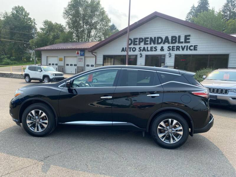 2018 Nissan Murano for sale at Dependable Auto Sales and Service in Binghamton NY