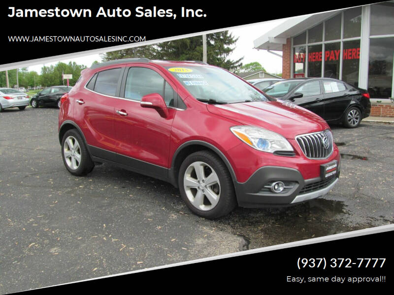 2015 Buick Encore for sale at Jamestown Auto Sales, Inc. in Xenia OH