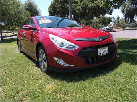 2012 Hyundai Sonata Hybrid for sale at D & I Auto Sales in Modesto CA