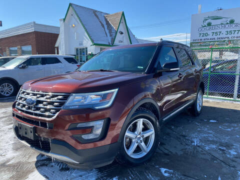 2016 Ford Explorer for sale at GO GREEN MOTORS in Denver CO
